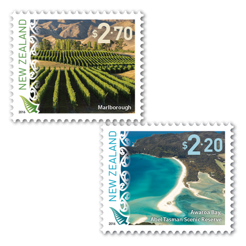 2016 Scenic Definitives Set of Mint Self Adhesive Stamps