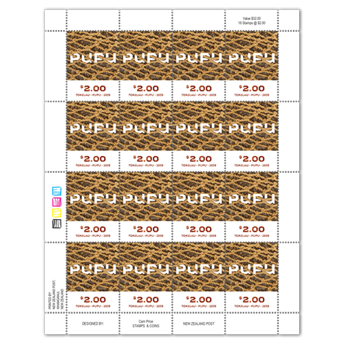 Tokelau Weaving 2020 $2.00 Stamp Sheet
