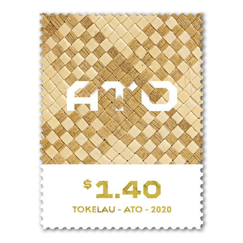Tokelau Weaving 2020 $1.40 Stamp