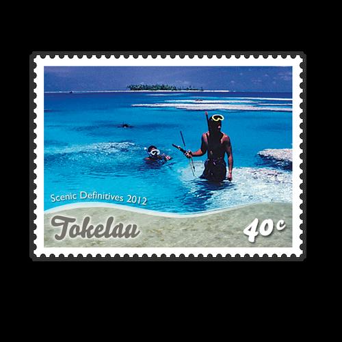 Tokelau Scenic Definitives 2012 40c Stamp