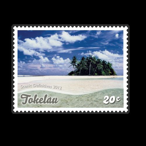 Tokelau Scenic Definitives 2012 20c Stamp
