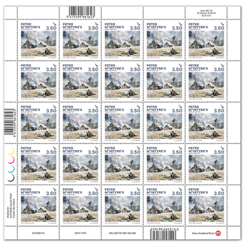 2020 Peter McIntyre's World War Two $3.50 Stamp Sheet