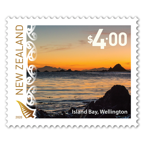 2020 Scenic Definitives $4.00 Stamp