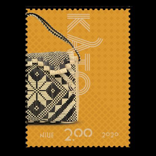 Niue Weaving 2020 $2.00 Stamp