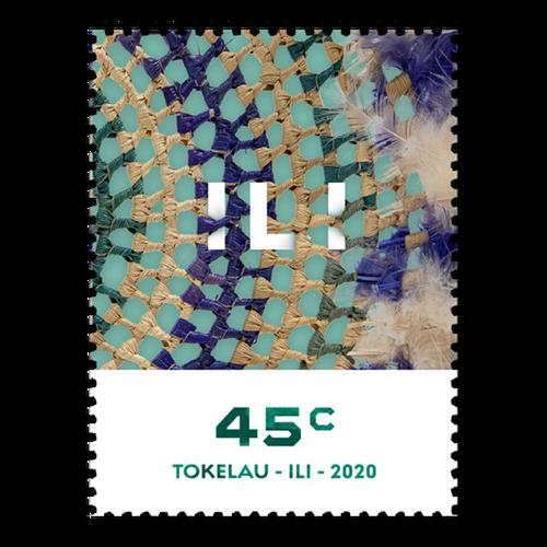 Tokelau Weaving 2020 45c Stamp