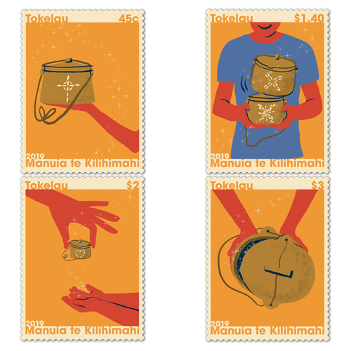 Tokelau Christmas 2019 Set of Mint Stamps