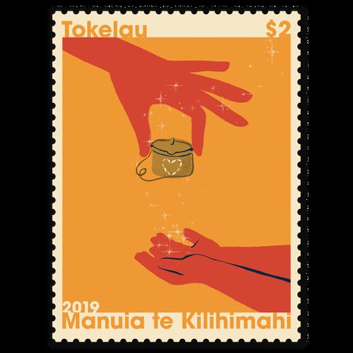 Tokelau Christmas 2019 $2.00 Stamp