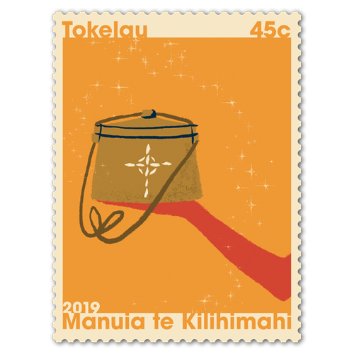 Tokelau Christmas 2019 45c Stamp