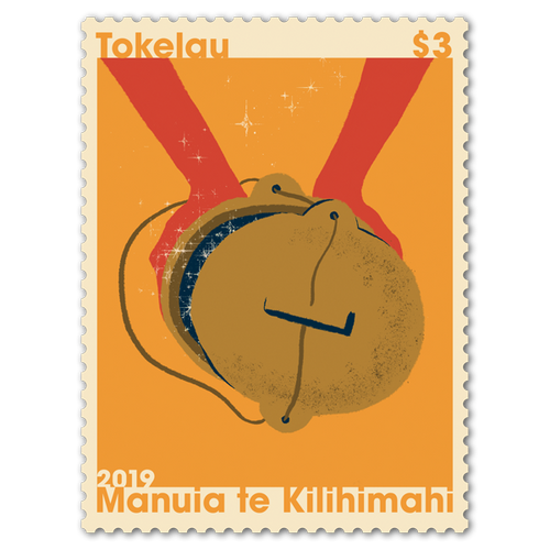 Tokelau Christmas 2019 $3.00 Stamp