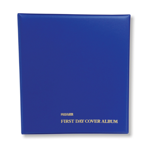 Premier Large First Day Cover Deluxe Album