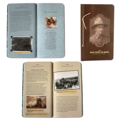 1918 Back from the Brink Miniature Sheet Booklet