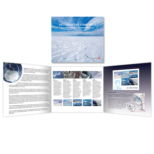 2012 Ross Dependency Definitives Presentation Pack