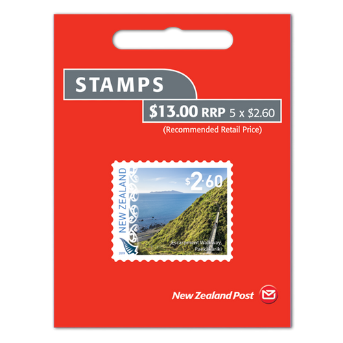 2019 Scenic Definitives $2.60 Self-adhesive Booklet