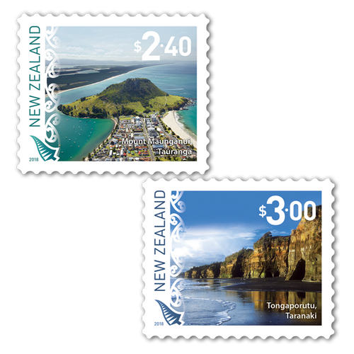 2018 Scenic Definitives Set of Used Self-adhesive Stamps