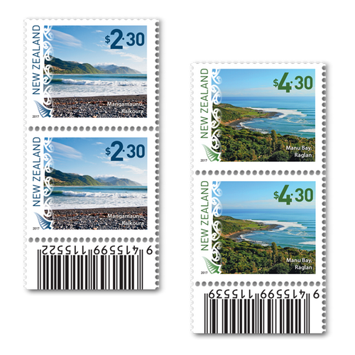 2017 Scenic Definitive Set of Barcode A Blocks
