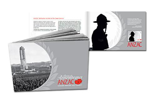 2010 ANZAC Series Remembrance Miniature Sheet Booklet