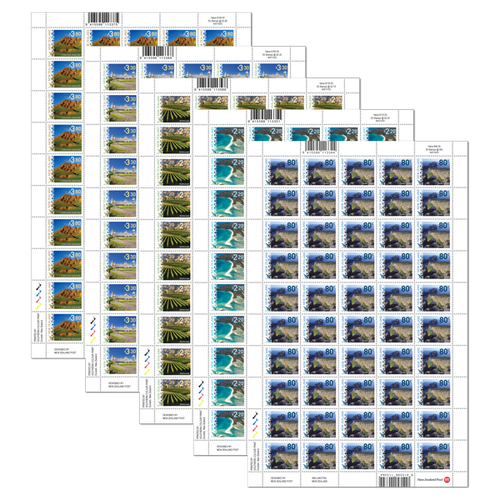 2016 Scenic Definitives Set of Stamp Sheets