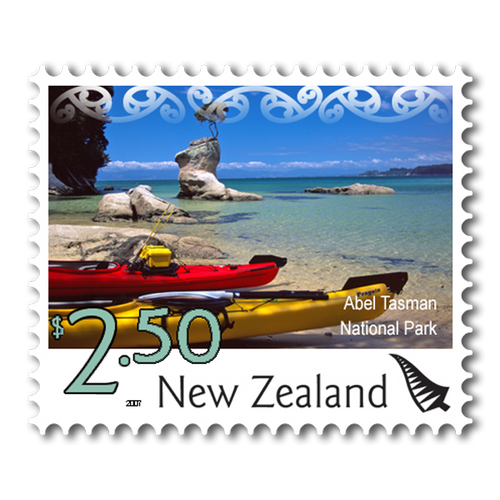 2007 Scenic Definitives $2.50 Stamp