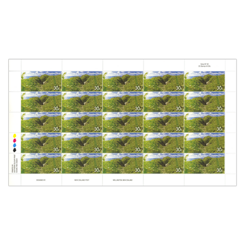 2014 Scenic Definitives - A Tour of Niue 30c Stamp Sheet