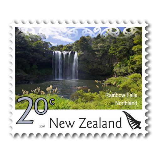 2007 Scenic Definitives 20c Stamp