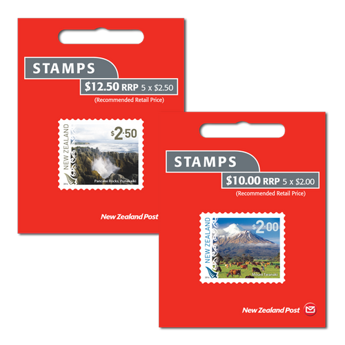 2014 Scenic Definitives Set of Self Adhesive Booklets