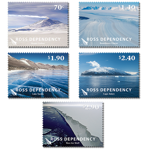 2012 Ross Dependency Definitives Set of Used Stamps
