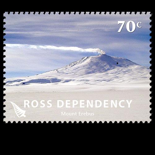2012 Ross Dependency Definitives 70c Stamp