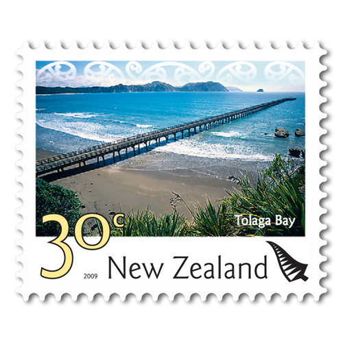 2009 Scenic Definitives 30c Stamp