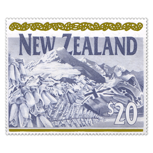 1995 $20 Definitive Stamp