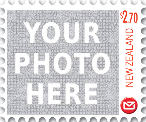 Personalised Stamps $2.70 Gummed Sheet