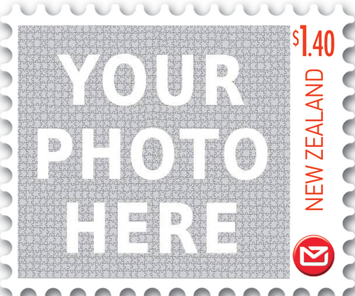 Personalised Stamps $1.40 Gummed Sheet