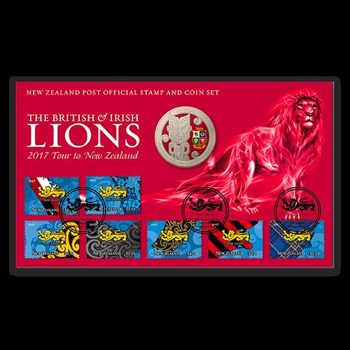 2017 British & Irish Lions Numismatic Cover