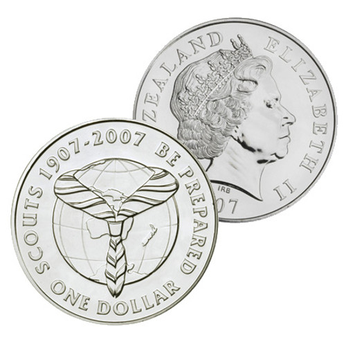 2007 Centenary of World Scouting Brilliant Uncirculated Coin