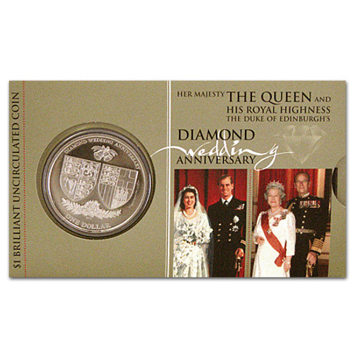 2007 Royal Wedding Anniversary Brilliant Uncirculated Coin