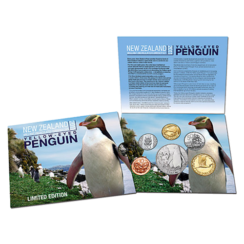2011 Yellow Eyed Penguin Brilliant Uncirculated Currency Set