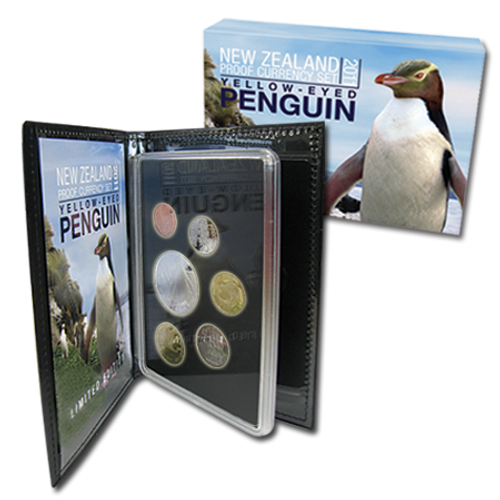 2011 Yellow Eyed Penguin Proof Currency Set