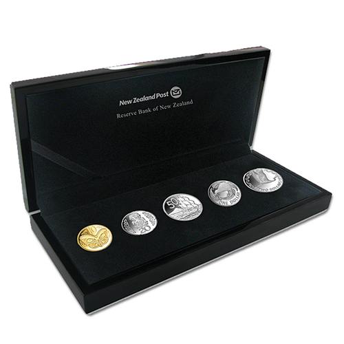 2012 New Zealand Silver Currency Set