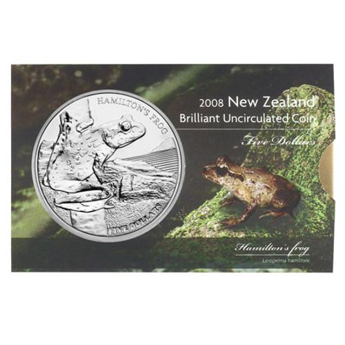 2008 Hamilton's Frog Brilliant Uncirculated Coin