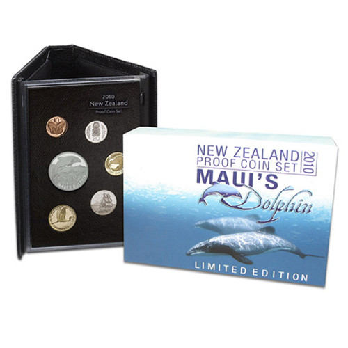 2010 Maui's Dolphin Silver Proof Coin Set