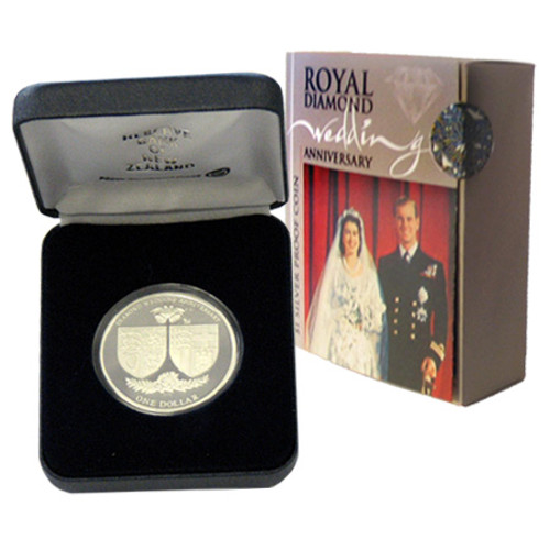 2007 Royal Wedding Anniversary Silver Proof Coin