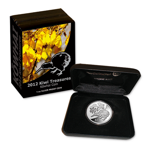2012 Kiwi Treasures Silver Proof Coin
