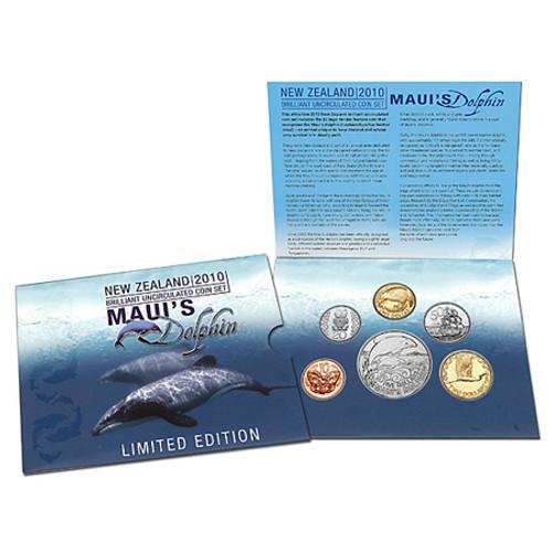 2010 Maui's Dolphin Brilliant Uncirculated Coin Set