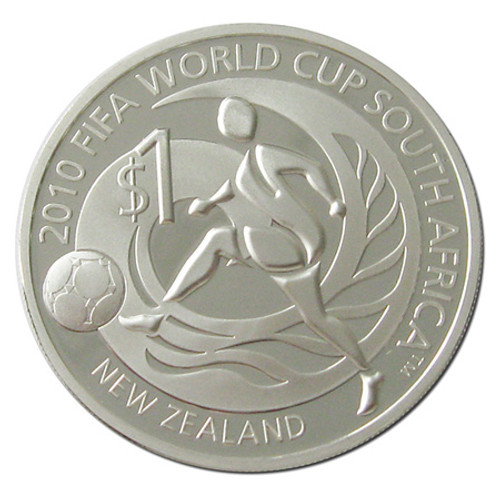 2010 FIFA World Cup Silver Proof Coin