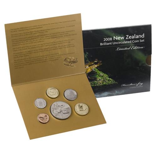 2008 Hamilton's Frog Brilliant Uncirculated Coin Set