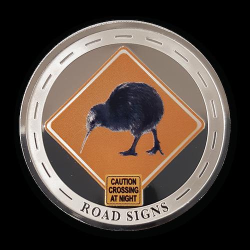 2020 New Zealand Road Signs Medallion Set