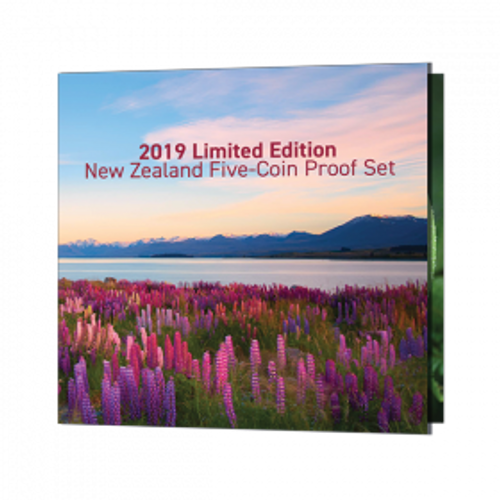2019 Limited Edition New Zealand Five-Coin Proof Set