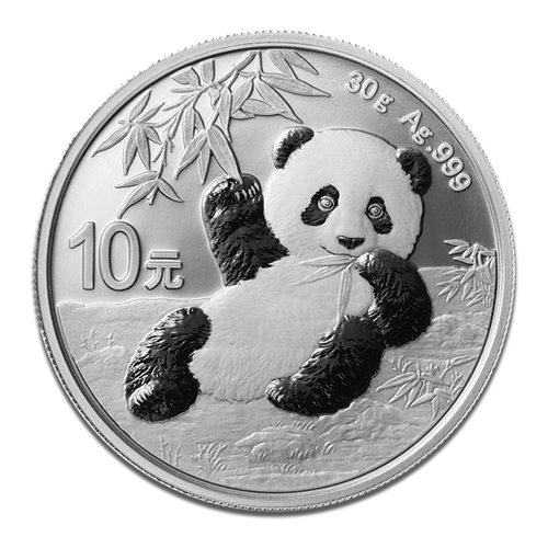 2020 Chinese Panda Silver Coin