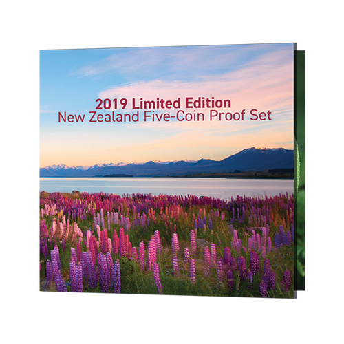 2020 Limited Edition New Zealand Five-Coin Proof Set