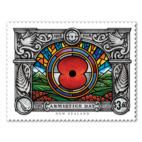 Armistice 1918 - 2018 Commemorative Stamp and Coin Pack