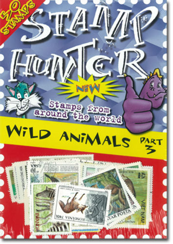 Stamp Hunters Wild Animals Themed Pack Part 3